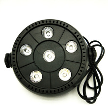 New Professional LED Stage Light 6W RGB AC90-240V Stage Lighting Effect PAR Light for DJ Disco Party KTV Free Shipping