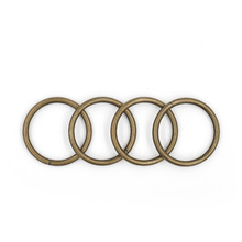 (10 pieces/lot) inner diameter of 30mm metal buckle. Metal hoop. Circle. Clothing & Accessories. Hanging Rings.Buckles