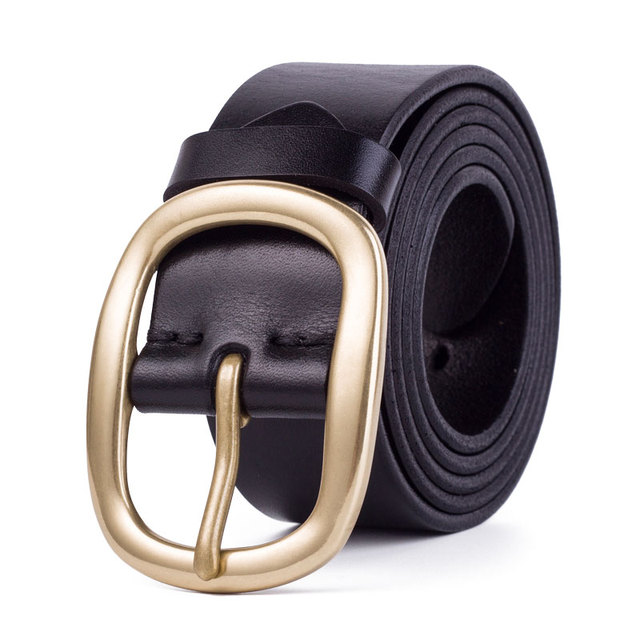 New Pin Buckle Genuine Leather Belt For Men