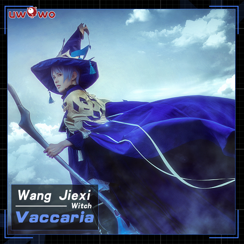 UWOWO Vaccaria Cosplay The King's Avatar Costume Wang Jiexi Witch Quan Zhi Gao Shou Costume Men