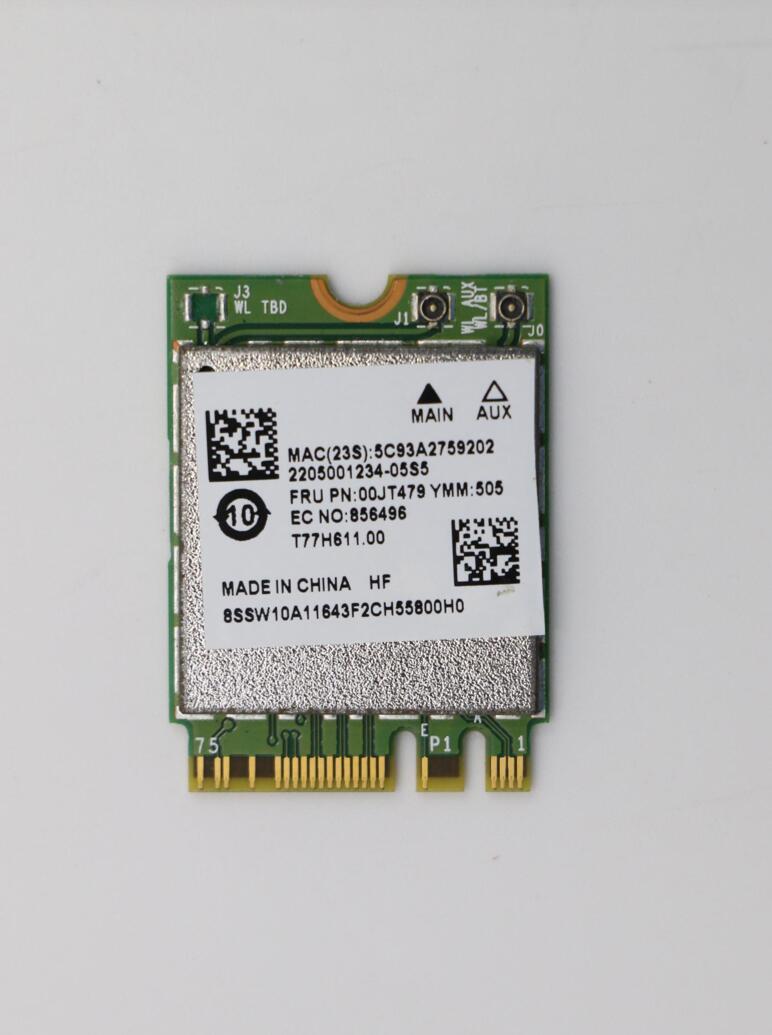 Lenovo Thinkpad L460 L560 P50S T460 T460S T460P T560 BCM94356 802.11AC NGFF Cartão 867 Mbps WIFI + Bluetooth 4.1 Sem Fio 00JT479