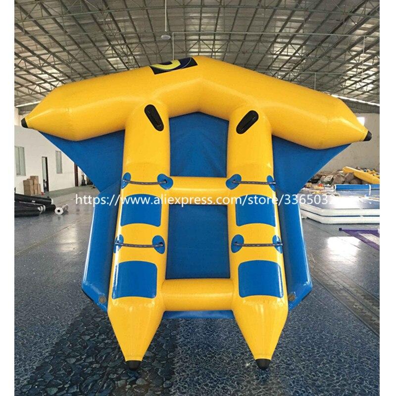 Tube de poisson volant gonflable de bateau de banane de poisson volant gonflable remorquable à vendre