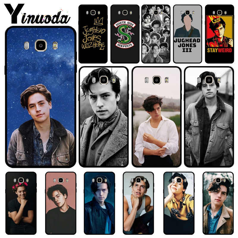 Yinuoda American tv riverdale Jughead Jones New Arrival Fashion phone cover for Samsung 2015J1 J5 J7 2016J1 J3 J5 J7 Note3 4 5