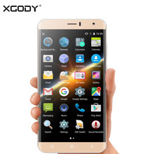 Xgody Y15 Pro 6.0 Inch Smartphone Quad Core 1GB RAM 8GB ROM Touchccreen GSM Android 5.1 Telefone Celular 4G Unlocked Cell Phones