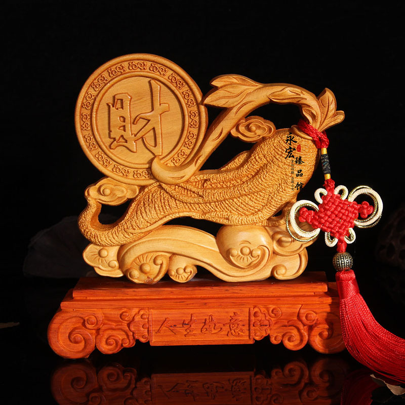 Wood carved ginseng and Chinese characters, both sides carved, desktop Decoration home decorations ornaments(A054)Wood carved ginseng and Chinese characters, both sides carved, desktop Decoration home decorations ornaments(A054)