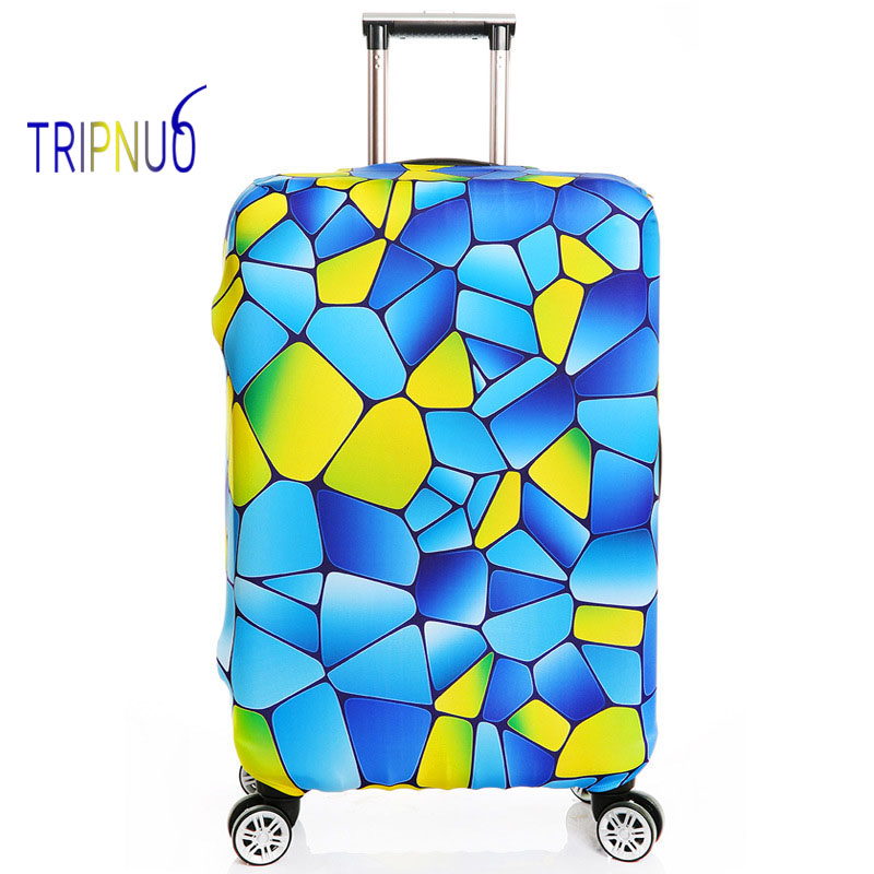 TRIPNUO Thickest Colorful Luggages Protective Cover For 18-32 Inch Trolley Cases Waterproof Elastic Suitcases Covers