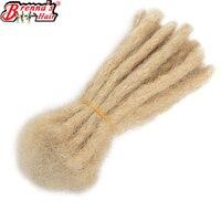 610 Handmade Dreadlocks Extensions Synthetic Crochet Dreads Braiding Hair For Men And Women Black Eunice hair