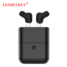 TWS Bluetooth Earphone Earbuds Touch Control Hifi Stereo Wireless Mic for Phone With Charger Charging Box Mini LJ-MILLKEY YZ130