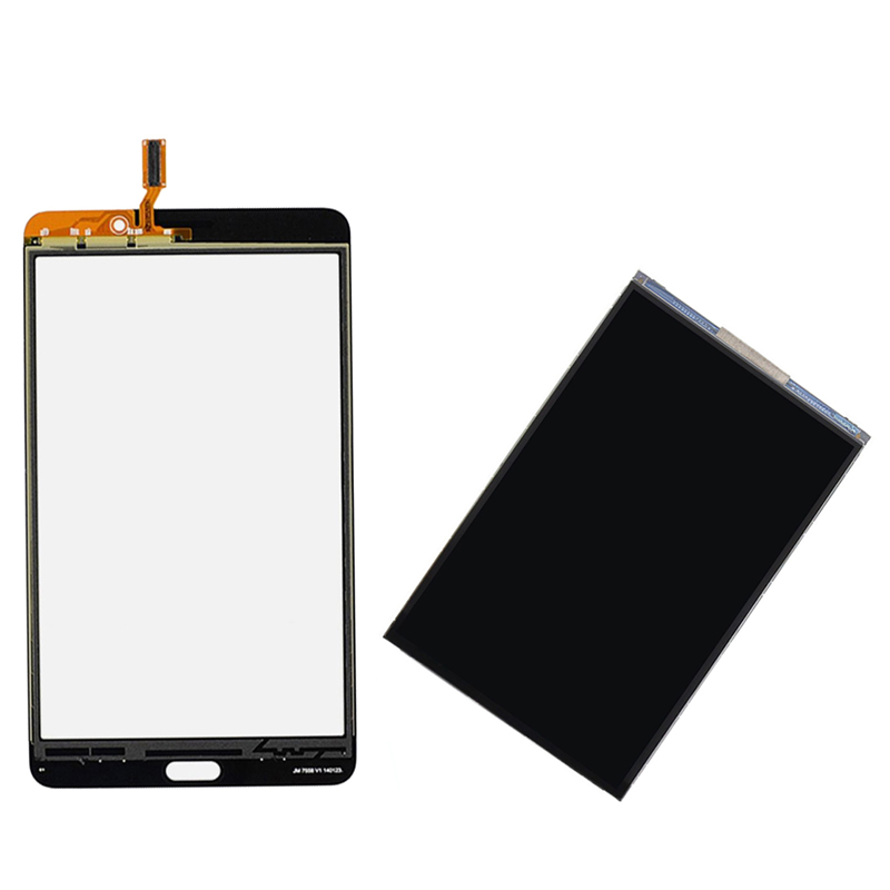 Black / White For Samsung Galaxy Tab 4 7.0 T230 SM-T230 Touch Screen Digitizer Sensor Glass + LCD Display Screen Panel Monitor original new touch screen digitizer touch panel touchscreen for samsung galaxy star advance sm g350e g350e black or white