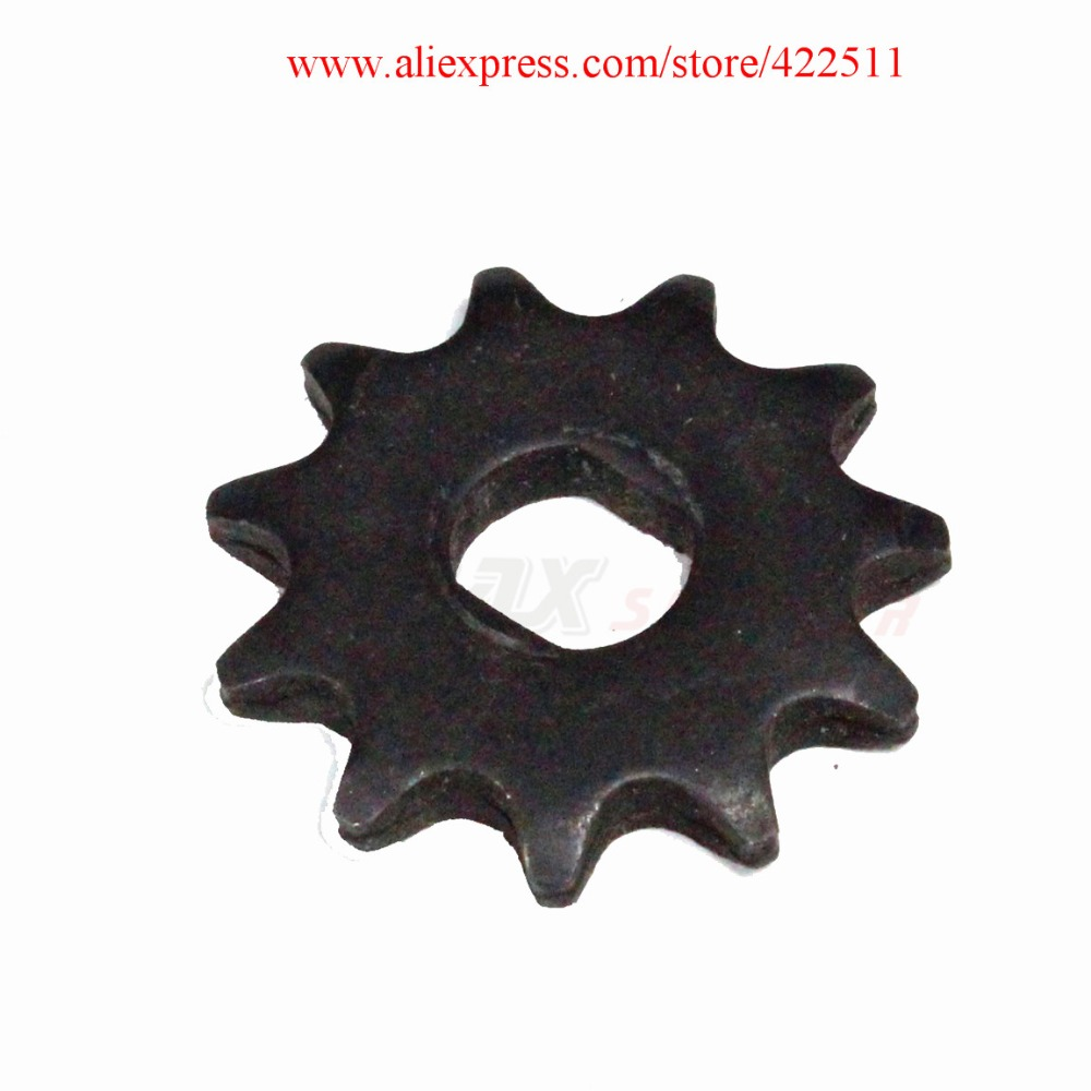 Electric Scooter Front Chain Sprocket T8F 11Teeth Electric Motor Sprocket Electric Scooter Motor Pinion