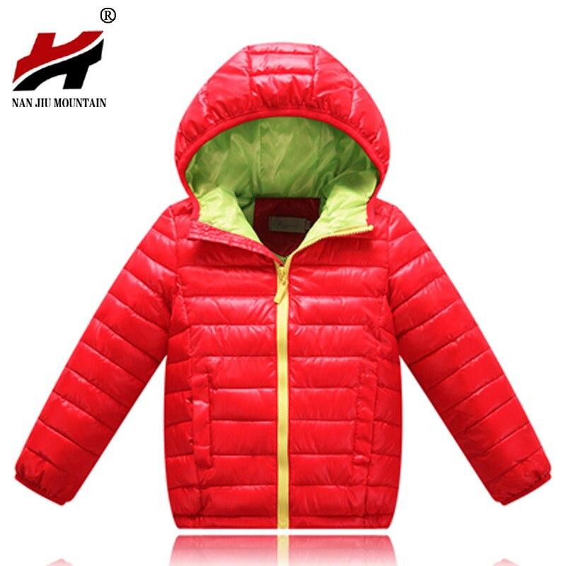 671bcebb2 2017 Hot Sale Hooded Girls Boys Winter Coat Long Sleeve Boys Winter Jacket  WindProof Children Kids Winter Jacket 4 to 12 Years