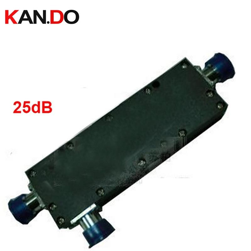 6pcs/lot,25db coupler Power Coupler 25 dbi frequency 800-2500Mhz coupling device for communcation power splitter telecom part