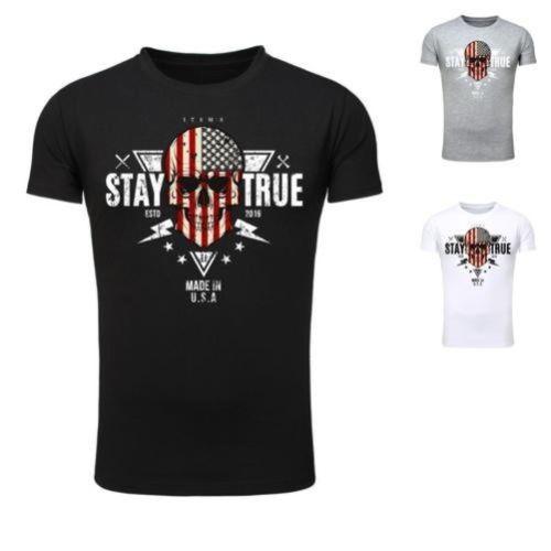 dc8969c6c96a7e 2019 горячая Распродажа 100% хлопок модные легендарные предметы Uomo  Maglietta Uomini футболка нам США Америка