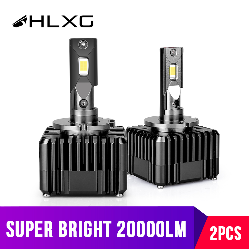 20000LM D1S LED D3S Car Headlight Conversion Kit CSP Chips 6000K 12V light source Led Front