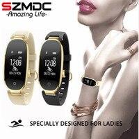Waterproof Smart Bracelet Heart Rate Sleep Tracker Fitness Tracker Smart Fitness Bracelet Smart Wristband Women For