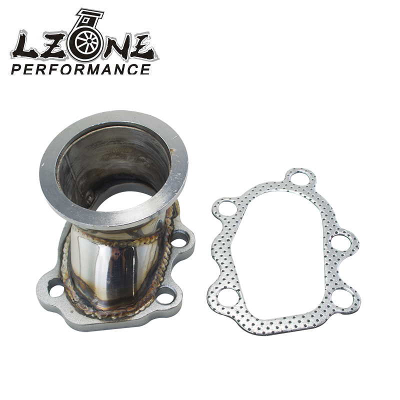 LZONE - Stainless Steel Adapter For T25 T28 GT25 GT28 2.5