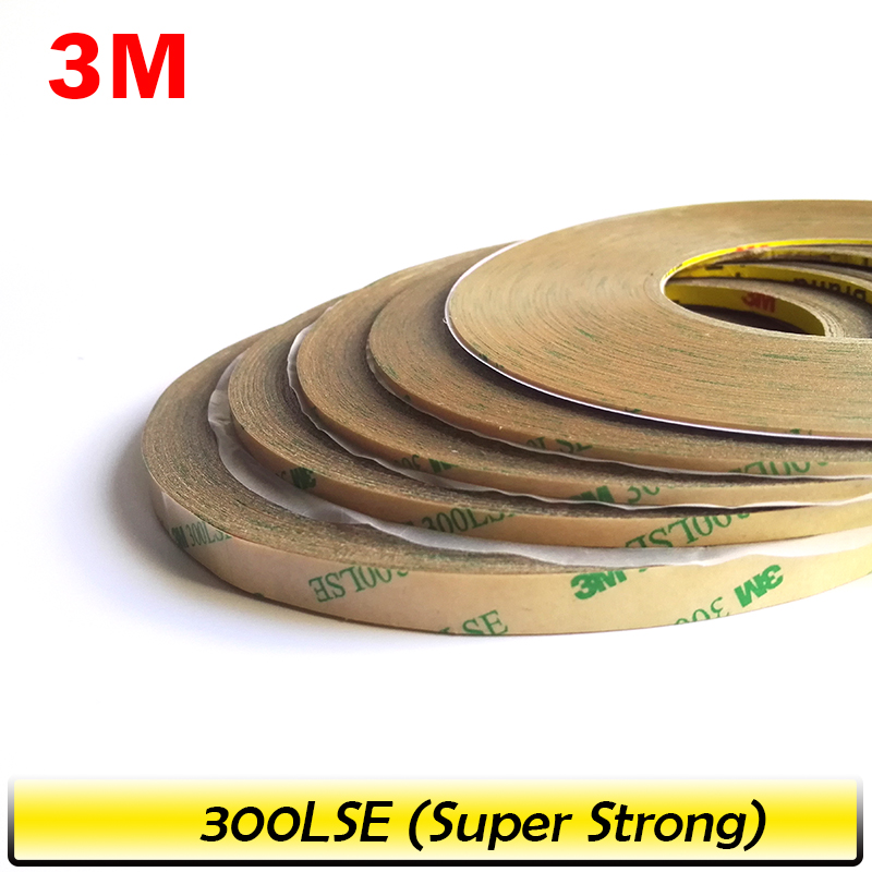 1mm/2mm/5mm/3mm/10mm Choose 3M 300LSE Super Strong Double Sided Adhesive Tape For
