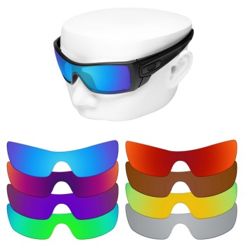 OOWLIT Polarized Replacement Lenses for-Oakley Batwolf OO9101 Sunglasses oowlit polarized replacement lenses of blue gradient for oakley frogskins sunglasses