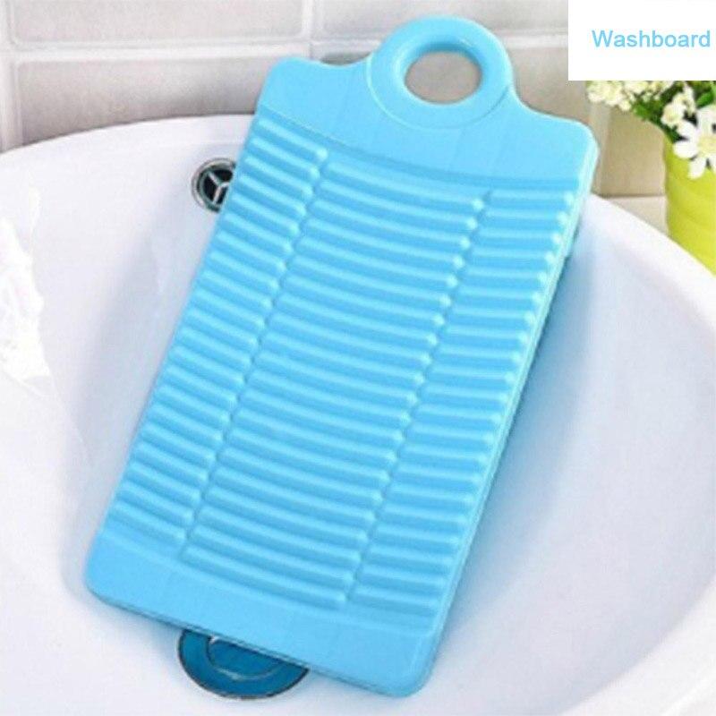 Ev ve Bahçe'ten Fırçalıklar'de Plastik Anti skid kalınlaşmak kaymaz çamaşır Mini temiz çamaşır yurdu ev kurulu yıkama plakası title=