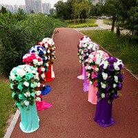 Route de mariage plomb cadre cadre de mariage de plomb, support, le support, support de mariage colonnes de mariage décorations. envoyé via EMS