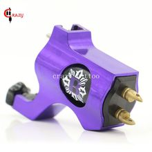New Rotary Tattoo Machine Bishop Style Purple Colors Tattoo Machine For Tattoo Shader Liner Fashion Tattoo Machine Free Shipping
