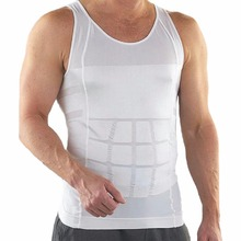 Hot Sale Men Body Slimming Tummy Shaper Belly Underwear shapewear Waist Girdle Vest