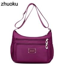 Кроссбоди Сумки на плечо для Для женщин Вместительные сумки сумка женская сумочка клатч нейлон Повседневное Bolsas feminina SAC Femme