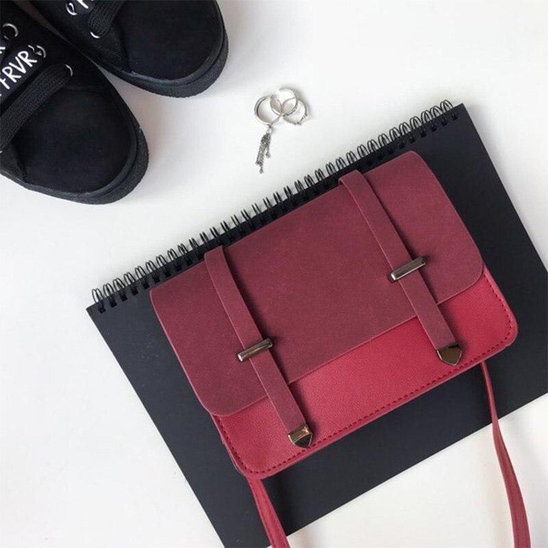 DALFR Women Pu Leather Crossbody Bag Luxury Brand Shoulder Bags Ladies Small Handbag Women Messenger Bags for Women