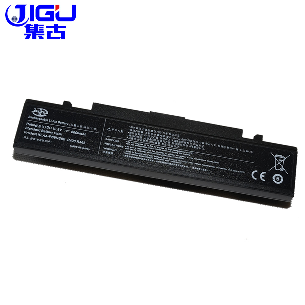 JIGU Rv513 NEW 6600 Mah Laptop Battery For Samsung AA-PB9NC5B AA-PB9NC6B R518 R519 R520 R522 R540 R580 R610 R620 R700 R425 R430 7800mah laptop battery for samsung r520 r522 r523 r538 r540 r580 r620 r718 r720 r728 r730 r780 rc410 rc510 rc512 rc710 rc720