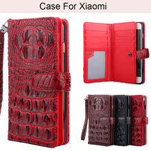 K'try Crocodile Pu Leather Phone Case For Xiaomi Redmi 4 pro 4A 4X Note 5A Pro 5A 5 Plus Note 5 6 S2 6 Pro 6A(China)