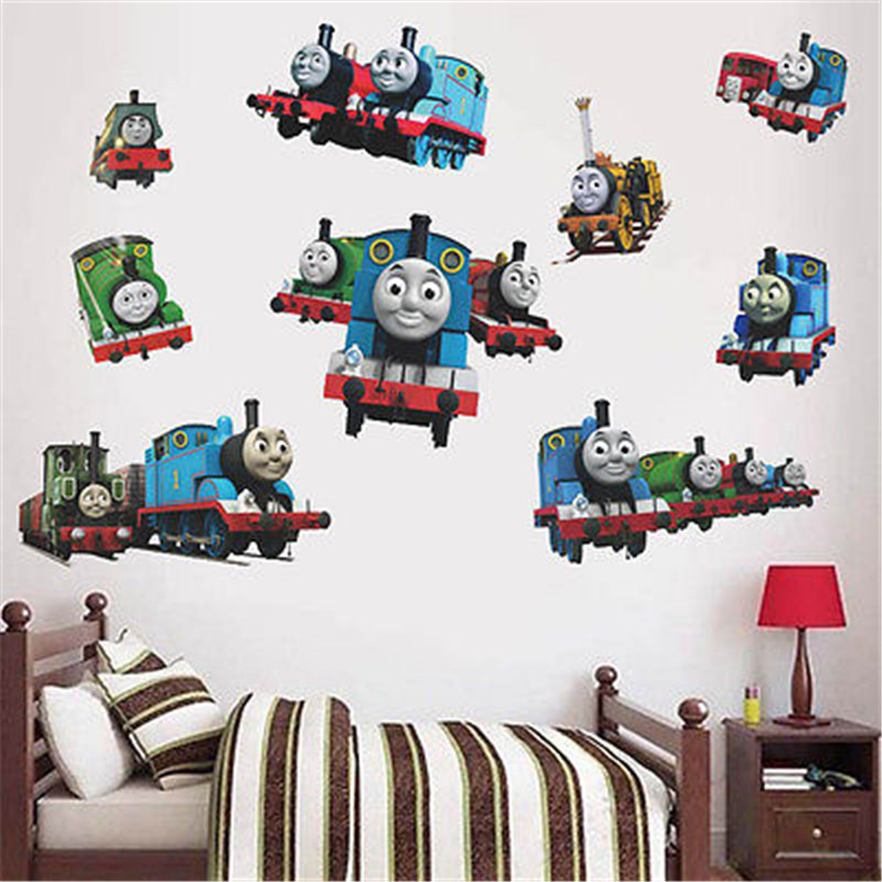 Thomas The Tank Engine Wall Decal Kids Boy Bedroom Vinyl Decal Wall Sticker  Gift In Wall Stickers From Home U0026 Garden On Aliexpress.com | Alibaba Group