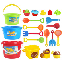 Summer children beach toys set beach bucket sand shovel baby play snow play water sand cart outdoor toy funny game beach toys sandbox set sea sand bucket water table play swimming pool and fun shovel molds tiny love for children summer game