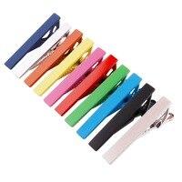 10 Pieces /lot Wholesale 1.5 Tie Clasp Clips Bar For Men