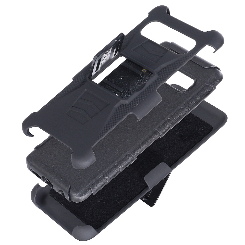 Heavy Duty Holster Defender Swivel Belt Clip Armor Case sFor Samsung S10 Plus S10 Lite S7 S5 S6 Note 3 4 5 J7 Rugged Phone Coque (1)