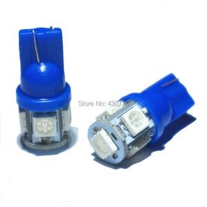 Image 3 - KTSCAR 100 unids/lote al por mayor luz led COCHE T10 W5W 194 5 LED SMD 5050 Luz de cuña lámpara bombillas exteriores de las luces 12V auto