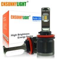CNSUNNYLIGHT Dual Colors Switchable H11/H8 9005 9006 H7 LED Car Fog Light Bulbs 3000K 6000K Switchback 5000Lm/Pair Auto Foglamps