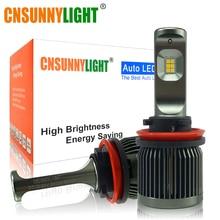 CNSUNNYLIGHT Dual Colors Switchable H11/H8  9005 HB3 H7 LED Car Fog Light Bulbs 3000K 6000K Switchback 5000Lm/Pair Auto Foglamps