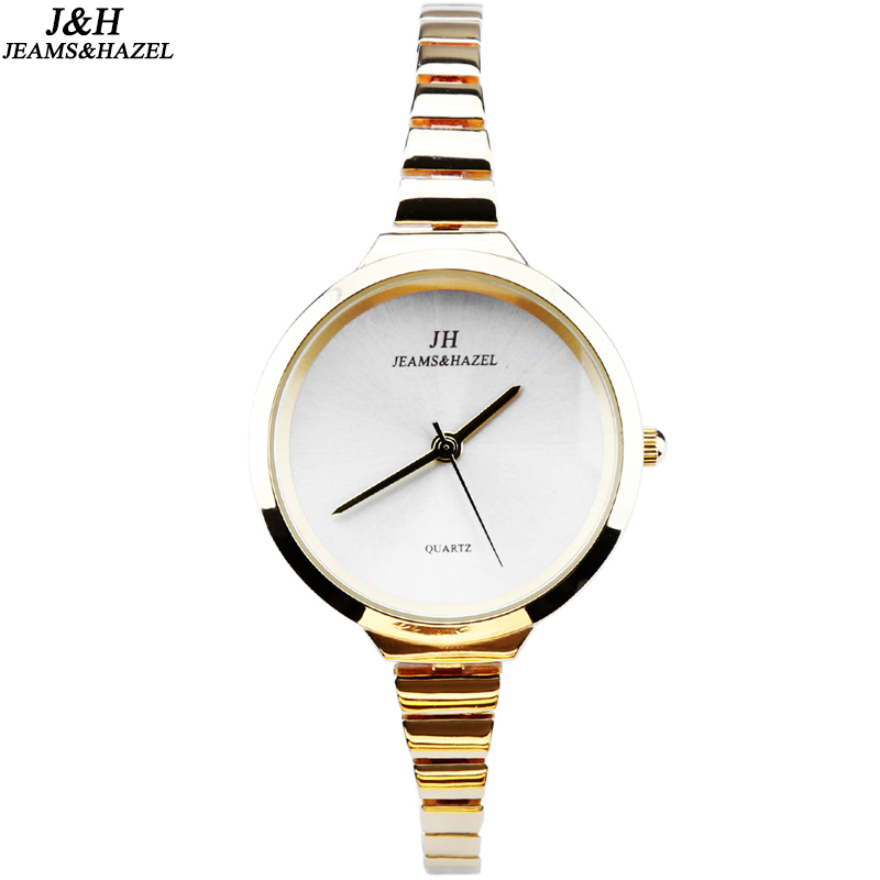 luxury Fashion lady slim brand watches quartz watch for women bracelet gold watch dw wristwatches stainless steel thin watch JH 2017 new hot kimio women s brand watches stainless steel fashion quartz bracelet wristwatches women lady dress watch clocks