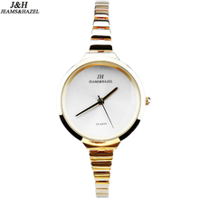 luxury Fashion lady slim brand watches quartz watch for women bracelet gold watch dw wristwatches stainless steel thin watch JH