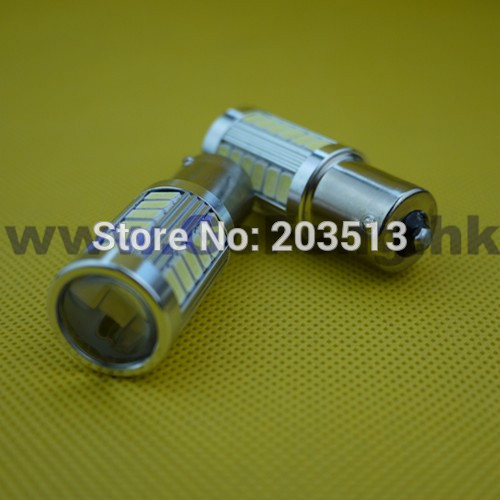 100pcs/lot 2014 hot selling car led bulb 33 SMD 1156 ba15s 5630 33 leds smd white and bule nice color lighting Free shipping