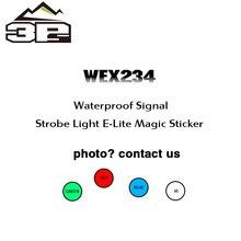 Шлем свет выживания водонепроницаемая лампа высокой и низкой температуры сопротивления стробоскопический сигнал 8 цветов WEX234
