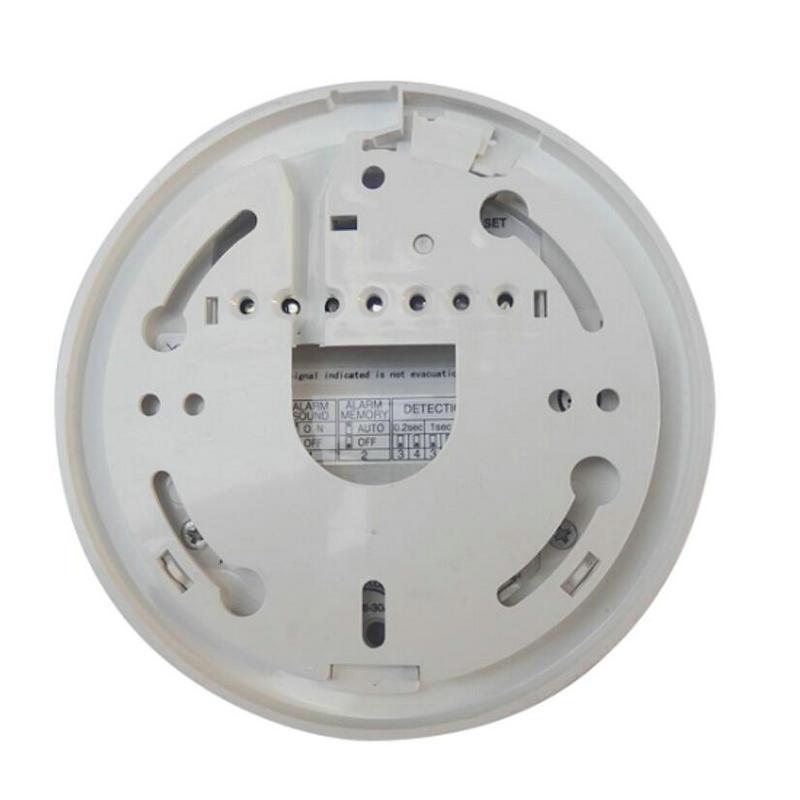 2000E Filo sensore di Allarme Antincendio rilevatore di Fiamma Rivelatore di raggi Ultravioletti protezione di sicurezza Domestica NC/NO uscita relè di segnale - 4