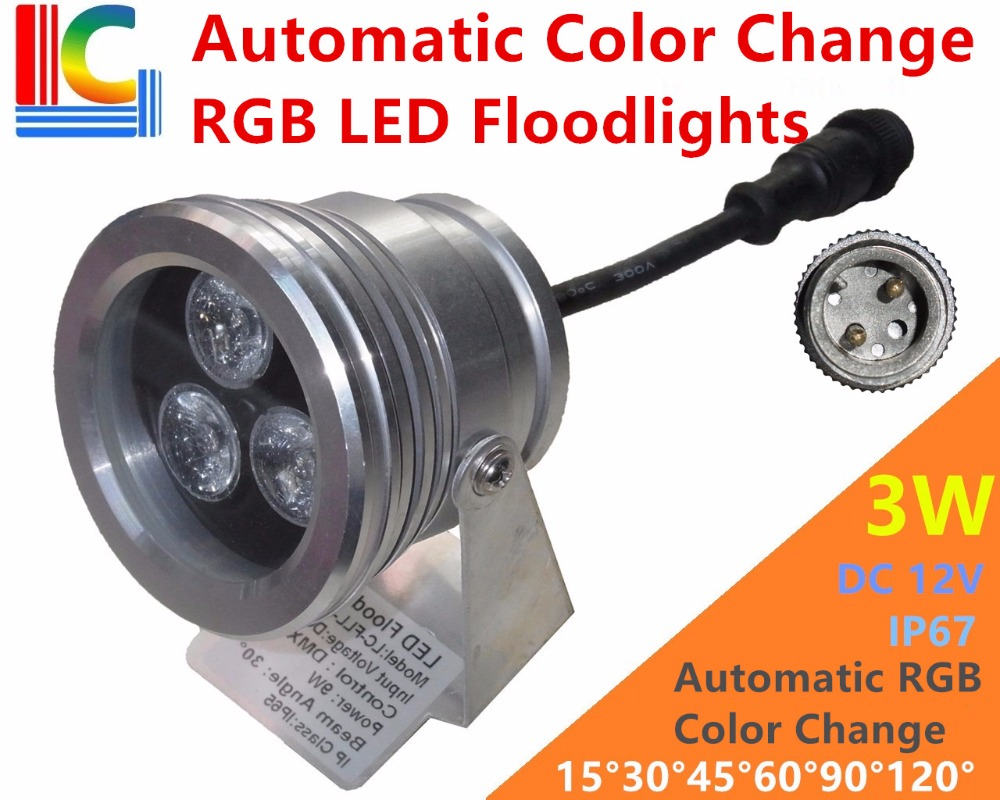 Lights & Lighting Precise 3w 9w High Power Led Floodlight 110v 220v Outdoor Landscape Lighting 12v Rgb Dmx512 Ip67 Waterproof Spotlight For Park Pool