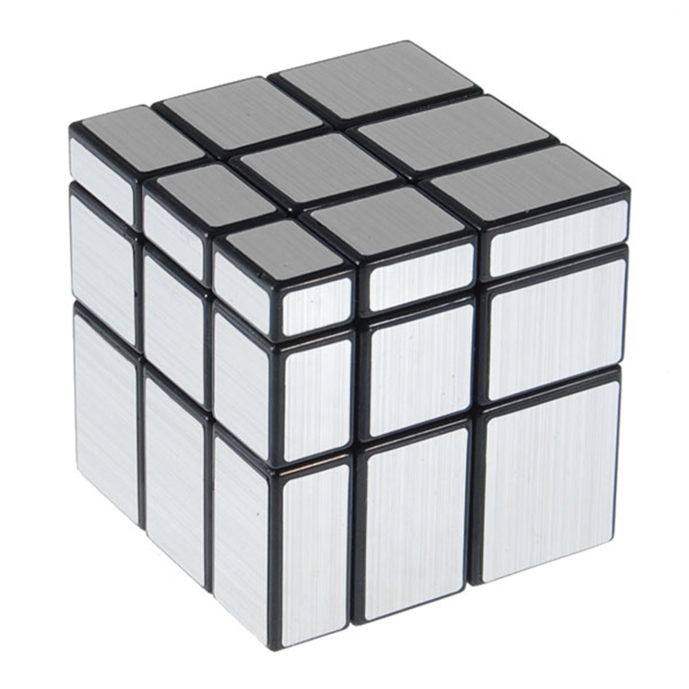 3x3x3 57mm Wire Drawing Style Cast Coated Magic Cube Challenge Gifts Puzzle Mirror Cubes Educational Toy Special Toys shengshou 3x3x3 mirror blocks magic cube speed puzzle cast coated cubes educational game toys for kids children