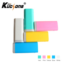 KUCHONG Cute Power Bank 5600mAh Portable External Charger Universal colorful Battery with flashlight For xiaomi iPhone huawei