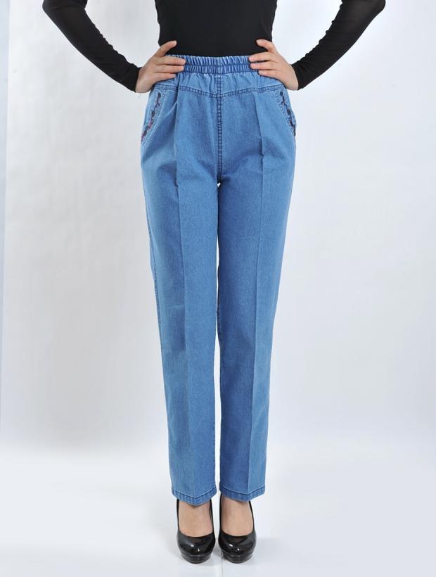 Spring font b Waist b font font b Jeans b font Female Feet Pencil Pants Casual