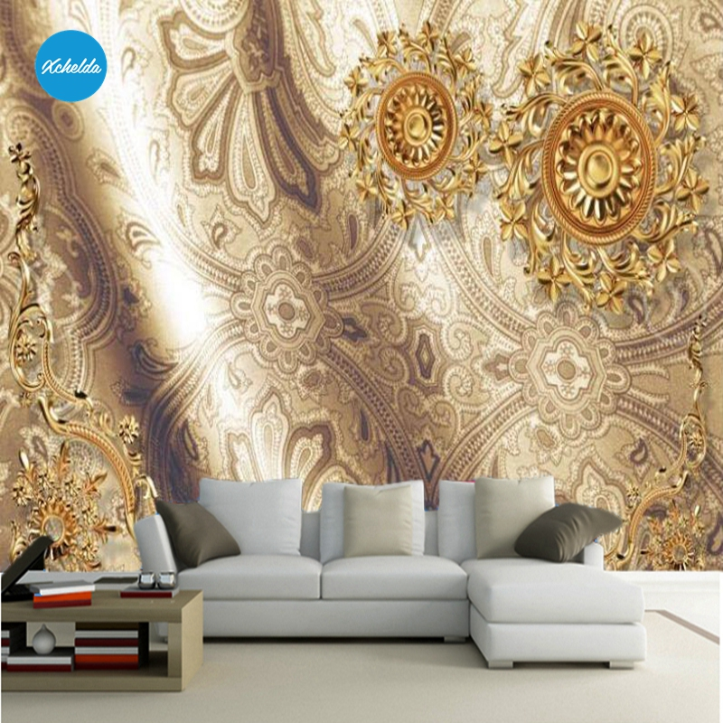 XCHELDA Custom 3D Wallpaper Design Aristocratic Style Photo Kitchen Bedroom Living Room Wall Murals Papel De Parede Para Quarto kalameng custom 3d wallpaper design street flower photo kitchen bedroom living room wall murals papel de parede para quarto
