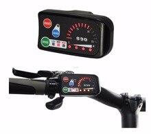 ConhisMotor 24 V 36 V 48 V eBike PAS 3-velocidade LED890 Visor Do Painel De Controle para Compatível DIY Bicicleta Elétrica Conversão controlador