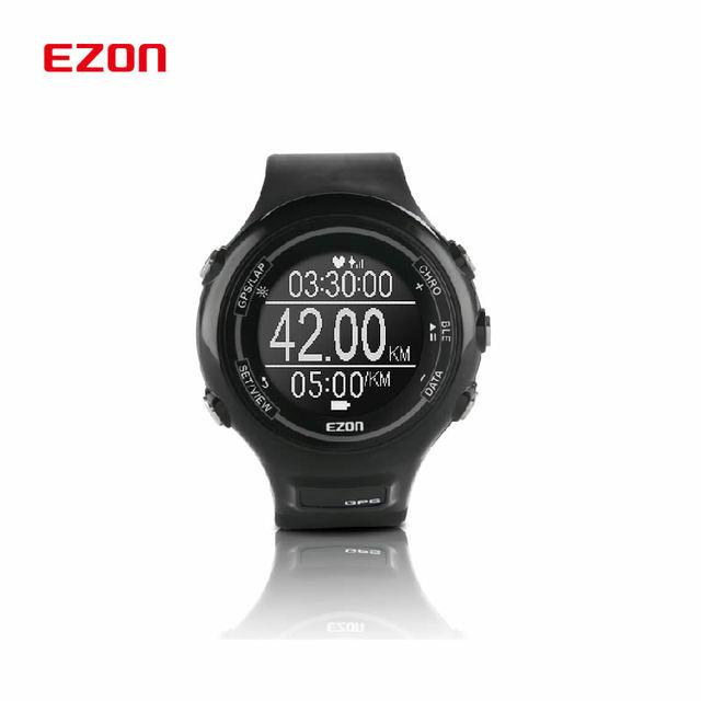 E1 dos homens Multi-Função À Prova D' Água Esportes Relógio Inteligente Com GPS Rastreador De Fitness Pedômetro Coração final Par Com Bluetooth4.0