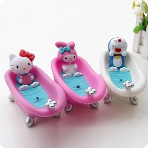 Cute Hello Kitty Soap Box Bath